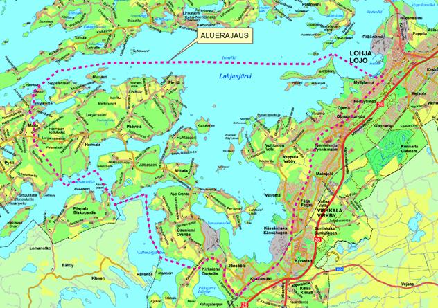 Kartta Kaupunkilehti Ykkos Lohja